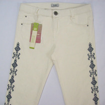 Pantalón Pitillo Marca Pull & Bear P/ Mujer Traído D Irlanda