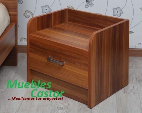Velador aparador mesa de noche de melamina s 160 t6lej for Precio de melamina