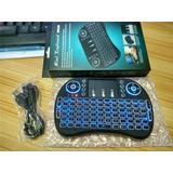 Mini Teclado Inalámbrico Iluminado Rgb Usb Smart Tv X Box Pc