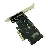 Tarjeta Pci Express 3.0 X4 Slot Para Ssd M.2 Nvme Adaptador