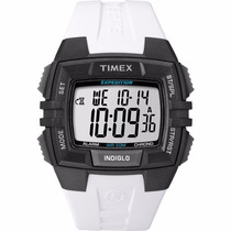 Reloj Timex T49901 Expedition, Luz Indiglo, Correa Blanca