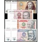Billetes Antiguos Intis Del Peru