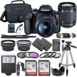 Camara  Canon Eos Rebel T7 Con 18-55mm Caja Sellada Nuevo