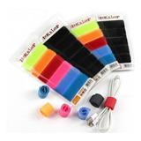 Organizador De Cables X 6 Unidades Elaborado En Velcro