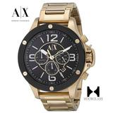 2a8954c44736 Reloj Armani Exchange Ax1511 Dorado Nuevo En Caja