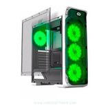 Case Gamer Gamemax Starlight 4 Coolers Led Verde Oferta