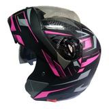 Casco De Moto De Mujer Articulado Certificado Integral
