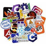 50 Stickers Logos Personaliza Tu Laptop, Cuarto Y Mas