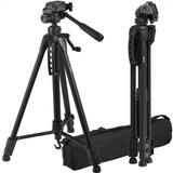 Tripode Semi Profesional 1.65m Soporta 3kg Canon Nikon Sony