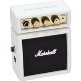 Marshall Ms 2 Mini Amplificador Ms2 Portatil Ms-2 Blanco