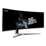 Monitor Samsung Chg90 Curvo 49  Qled Ultra Wide 144hz 1ms