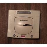 Sega Saturn Blanca Japonesa Con Detalle