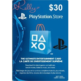 Play Station Store $30 C