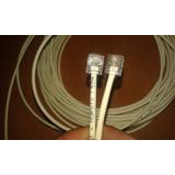 Cable Telefonico Para Extension De Anexo,linea,modem Router