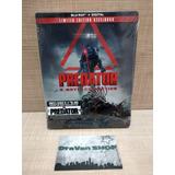 Predator 3 Movies Collection Steelbook Blu Ray Película