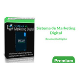 Sistema De Markeging Digital - Exur. [ Completo 100% 2019 ]