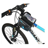 Funda Organizador De Bicicleta Celular Impermeable Tactil