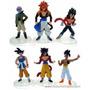 Coleccion De Dragon Ball Z Sagas De Gt(6 Muñecos)