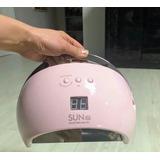 Lampara Led Uv Profesional Secadora Uñas 48w Manicure Sun6s