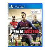 Juego Ps4 Pro Evolution Soccer Pes 2019 (latam)
