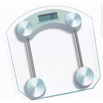 Balanza Electronica Digital De Baño Vidrio Templado  180 Kg