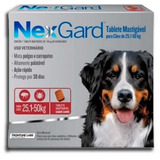 Nexgard Antipulgas Perros 25 A 50kg Garrapatas X 3 Unidades