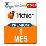Cuentas Premium 1fichier 30 Dias 1 Mes Oficial Garantia