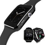 Smartwatch Reloj Celular X6 Cámara Tactil Bluetooth