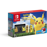 Nintendo Switch Edición Pokemon Let's Go + Pokeball