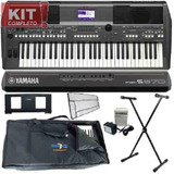 Kit Teclado Organo Yamaha Psr S670 Piano Electronico Nuevos