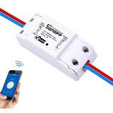 Sonoff Basic Interruptor Inalámbrico Wifi Celular Domótica