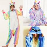 Pijamas Animales Onesie Enterizo Importada Stitch Unicornio