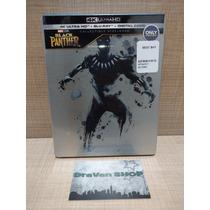 Black Panther Pantera Negra Steelbook 4k Blu Ray Pelicula