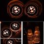 2 Luces Led Para Portavasos Con Logotipo De Coche, 7 Colo... Mitsubishi L300