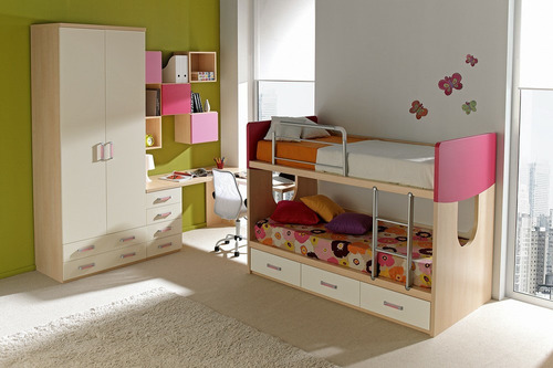Dise o camas y camarotes para ni os cotize s 3 t6jav for Precios de camas infantiles