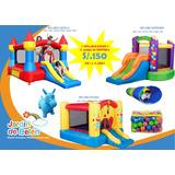 Alquiler De Juegos Inflables Para Fiestas,evento,infantiles