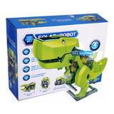 Robot Solar Kit 4 En 1 Dinobot Armable Robotica C- 14-13-7