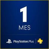 Tarjeta Playstation 1 Mes Plus Psn Card