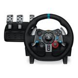 Ps4 Timon C/pedal G29 Usb Black Logitech