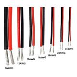 Cable Siliconado 14awg 200 ºc Color Rojo Por Metro Inc Igv