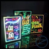 Pizarra Luces Led Publicidad Innovadora 60x80 Efecto Colores