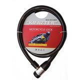Cadena Candado De Acero Trenzado Para Moto 20x1500