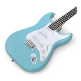 Gran Pack Guitarra Electrica Negra Amplificador Accesorios