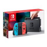 Consola Nintendo Switch Joy-con Neon Azul Y Rojo + Garantia