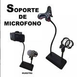 Soporte De Microfono Y Soporte Sony Iphone Samsung Karaoke