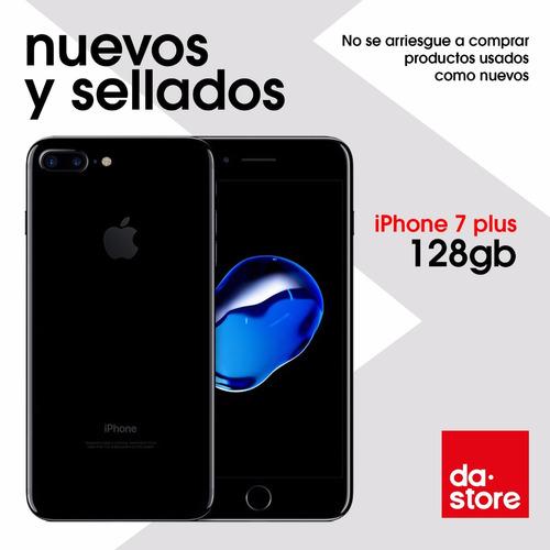 Iphone 7 Plus 128gb Jet Black Sellado Tienda