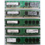 Memorias Ddr2 1gb 1 Giga Bus 667 100% Operativas Como Nuevas