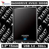 Disco Duro Hdd 2.5'' 15mm Adata Hv620 500gb Usb 3.0 5gb/s
