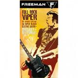 Pack De Guitarra Eléctrica Full Rock Viper, Negro,   Freeman