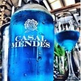 Vino Azul Botella Vinos Licores De Portugal